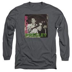 Elvis Presley - Mens First Lp Long Sleeve T-Shirt
