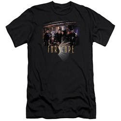 Farscape - Mens Cast Premium Slim Fit T-Shirt