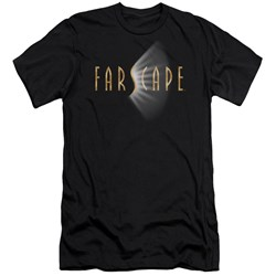 Farscape - Mens Logo Premium Slim Fit T-Shirt