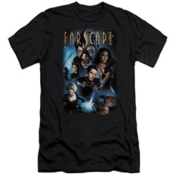 Farscape - Mens Comic Cover Premium Slim Fit T-Shirt