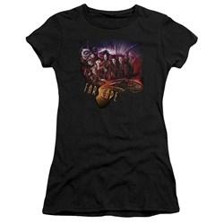 Farscape - Juniors Graphic Collage Premium Bella T-Shirt
