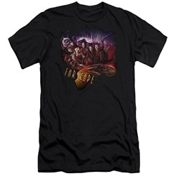 Farscape - Mens Graphic Collage Premium Slim Fit T-Shirt