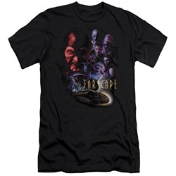 Farscape - Mens Criminally Epic Premium Slim Fit T-Shirt