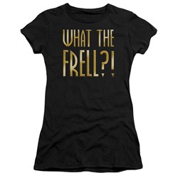 Farscape - Juniors What The Frell Premium Bella T-Shirt