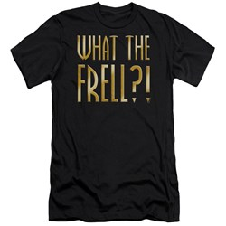Farscape - Mens What The Frell Premium Slim Fit T-Shirt