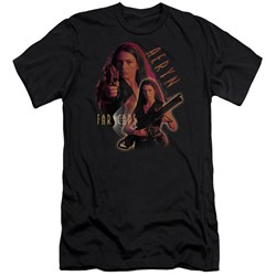 Farscape - Mens Aeryn Premium Slim Fit T-Shirt