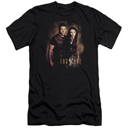 Farscape - Mens Wanted Premium Slim Fit T-Shirt