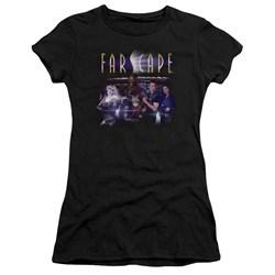 Farscape - Juniors Flarescape Premium Bella T-Shirt