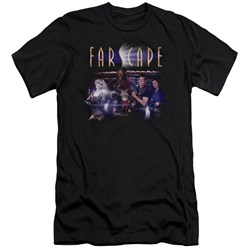 Farscape - Mens Flarescape Premium Slim Fit T-Shirt