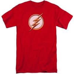 Flash - Mens Season 4 Logo Tall T-Shirt