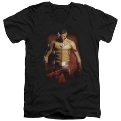 Flash - Mens Kid Flash V-Neck T-Shirt