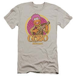 Fraggle Rock - Mens Gobo Circle Premium Slim Fit T-Shirt