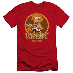 Fraggle Rock - Mens Wembley Circle Premium Slim Fit T-Shirt