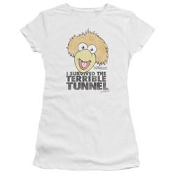 Fraggle Rock - Juniors Terrible Tunnel Premium Bella T-Shirt