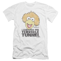 Fraggle Rock - Mens Terrible Tunnel Premium Slim Fit T-Shirt
