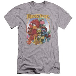 Fraggle Rock - Mens Group Hug Premium Slim Fit T-Shirt
