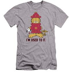 Garfield - Mens Im Used To It Premium Slim Fit T-Shirt