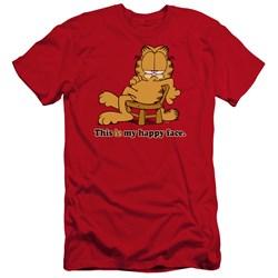 Garfield - Mens Happy Face Premium Slim Fit T-Shirt