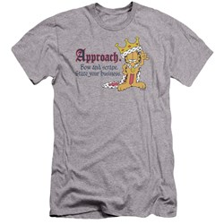 Garfield - Mens State Your Business Premium Slim Fit T-Shirt