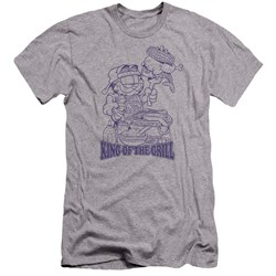 Garfield - Mens King Of The Grill Premium Slim Fit T-Shirt