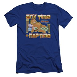 Garfield - Mens Nap Time Premium Slim Fit T-Shirt