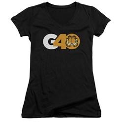 Garfield - Juniors G40 V-Neck T-Shirt