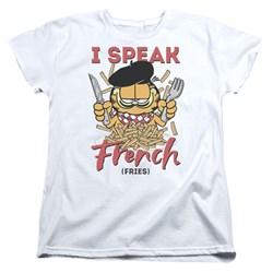 Garfield - Womens Speaking Love T-Shirt