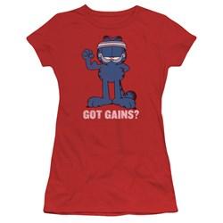 Garfield - Juniors Got Gains T-Shirt