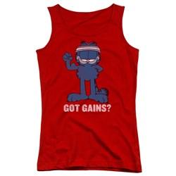 Garfield - Juniors Got Gains Tank Top