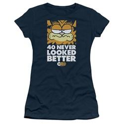 Garfield - Juniors 40 Looks T-Shirt