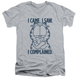 Garfield - Mens I Complained V-Neck T-Shirt