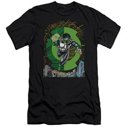 Green Lantern - Mens Gl #51 Cover Premium Slim Fit T-Shirt