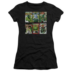 Green Lantern - Juniors Gl Covers Premium Bella T-Shirt