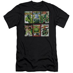 Green Lantern - Mens Gl Covers Premium Slim Fit T-Shirt