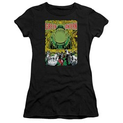 Green Lantern - Juniors Gl #200 Cover Premium Bella T-Shirt