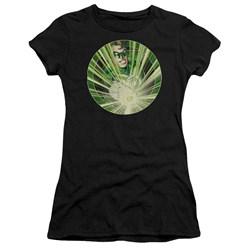 Green Lantern - Juniors Light Em Up Premium Bella T-Shirt