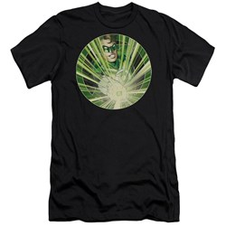 Green Lantern - Mens Light Em Up Premium Slim Fit T-Shirt