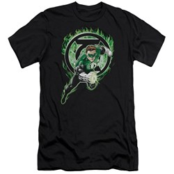 Green Lantern - Mens Space Cop Premium Slim Fit T-Shirt
