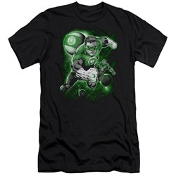 Green Lantern - Mens Lantern Planet Premium Slim Fit T-Shirt