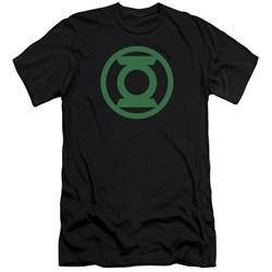 Green Lantern - Mens Green Emblem Premium Slim Fit T-Shirt