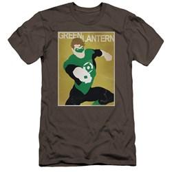 Dc - Mens Simple Gl Poster Premium Slim Fit T-Shirt