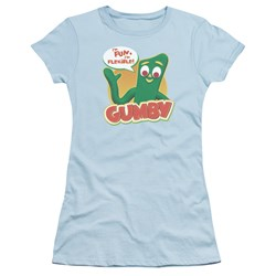 Gumby - Juniors Fun & Flexible T-Shirt