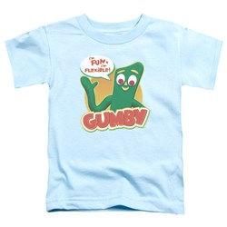Gumby - Toddlers Fun & Flexible T-Shirt