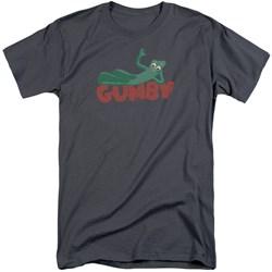 Gumby - Mens On Logo Tall T-Shirt