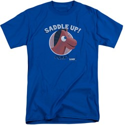 Gumby - Mens Saddle Up Tall T-Shirt