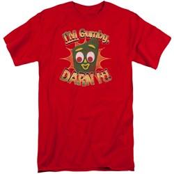 Gumby - Mens Darn It Tall T-Shirt