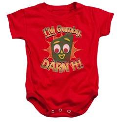 Gumby - Toddler Darn It Onesie