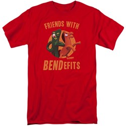 Gumby - Mens Bendefits Tall T-Shirt