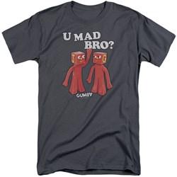 Gumby - Mens U Mad Bro Tall T-Shirt