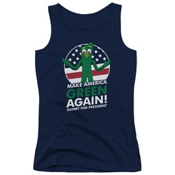 Gumby - Juniors For President Tank Top
